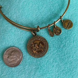 Alex and Ani Jewelry - Gold Alex and Ani BANGLE charm 2012 bracelet